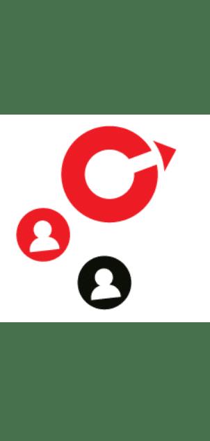 usuarios y creativos en alianza