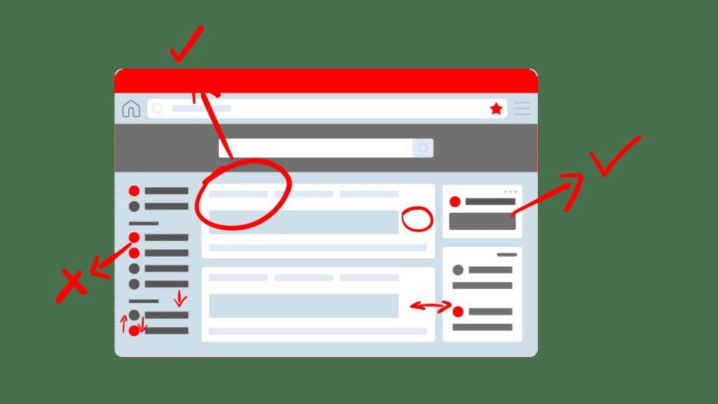 puntos clave diseño web