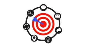 target de marketing de contenido